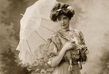 Jahrhundertwende bis 1910 Mode / Jahrhundertwende 1890-1908