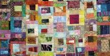 Batik bits / Ideas for my batik stash