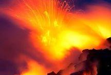 Le volcan, cette force cachée de la terre..........Silencieux et pourtant si présent. /  If the spark flies, there may be nothing left to save./ Si une étincelle jaillit, il ne restera peut-être plus rien à sauver.