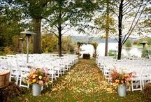 Outdoor Wedding Ideas / Outdoor Vermont Wedding Ceremony and Reception Ideas