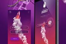 UI Inspiration: Purple / Inspiration based on the color purple