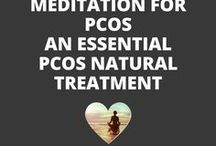 Meditation for PCOS - An Essential PCOS Natural Treatment / While science has clearly shown that stress is a cause of PCOS and that PCOS in turn causes us to be more stressed, this unfortunate positive feedback loop is often overlooked by most people, including many of the health professionals that we often turn to for help. Learning meditation is one of the best PCOS natural treatments for PCOS because this PCOS natural remedy can help stop the vicious feedback loop.