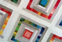 Quilts with Solids / Quilts made using solid or almost-solid fabrics