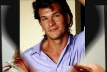 "my man ""Patrick Swayze"" / by Crystal Pittman"