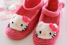 Childrens slippers and baby booties / by Crystal Pittman