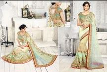 Designer Sarees /   Designer Sarees  By www.buyapparel.in