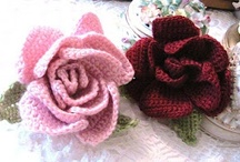 crochet flowers / by Crystal Pittman