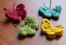 crochet butterflies and bees / by Crystal Pittman