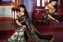 Printed Sarees / Printed Sarees  By www.buyapparel.in
