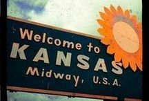 There's no place like home; there's no place like home; there's no place like home... / Kansas!
