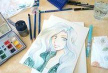Démos- Nos Créations / Dessins, illustrations, créations diverses réalisées par le staff Manga Ink