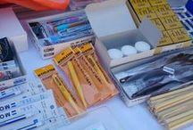 Les Coulisses de Manga Ink / Voici quelques photos de notre atelier, nos produits, nos stands sur les salons...