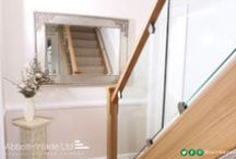 Staircase Installations / A range of recent staircase installations in a range of materials and finishes.