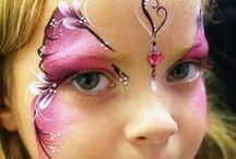 face paint,fasching,kostüme