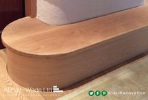 Feature Steps / A feature step is a great way to make a statement in your home.