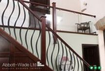 Metal Spindles / Samples of our work using metal spindles in the balustrade.