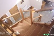 Oak Treads / A selection of staircase installations with our non-slip oak treads.