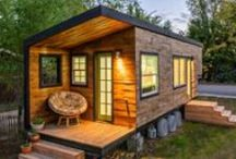 Tiny Homes / Small spaces can make great homes.