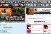 INTERCEPTARILE SRI LA CCR / CE MAFIOT DE POLITICIAN O FI INSTRUMENTAT CONTESTAREA LA CURTEA CONSTITUTIONALA A INTERCEPTĂRILOR FĂCUTE DE SRI?