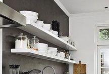 Wall shelves / voor keuken, woonkamer, inloopkast
