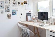 Study- sewing room - hobby room / ideetjes voor de werkkamer- naaikamer
