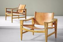 Hans Wegner / An icon of mid-century Danish design, Hans Jørgensen Wegner (1914–2007) was a pioneer of the modernist style often described as 'organic functionality'—a Scandanavian school of thought equally epitomised by the work of Poul Henningsen, Alvar Aalto, and Arne Jacobsen.