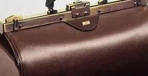 Doctor's bags / Prachtige leren tassen