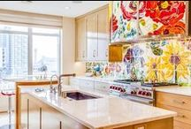 Creative Kitchens / Cook up some new design ideas for your kitchen.