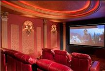 Home Theater / Get the popcorn poppin'! Find design inspiration here for your future home theater.
