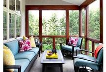 Sunrooms - Conservatory / Sunroom decor and design inspiration