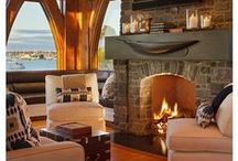 Fireplaces / Fireplace design inspiration