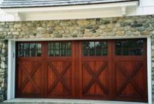 Garage Doors / Garage door ideas and designs