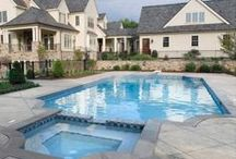 Pools / Backyard pool inspiration and design ideas