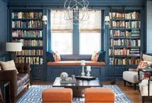 Home Libraries / Examples of Home Library designs and layouts for ideas and inspiration