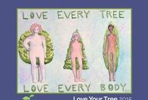 Love Your Tree / Love Your Tree is an arts-based campaign helping to educate middle and high school students about the natural diversity of healthy bodies and encouraging them to think outside the media's narrow definition of beauty.  This is a sampling of student artwork from the campaign.  Click on the image to find the artist's name and school.  More info at www.loveyourtree.org