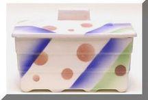 Collection Art Deco Ceramic / Hans Henniges - Spritzdekor Art Deco Ceramics A beautiful private collection and lots of information on Spritzdekor, by Hans Henniges
