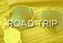 Road Trip Essentials / Everything you need for that summer road trip