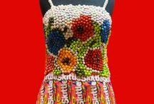 Candy Wrapper Fashion / Candy Couture: Candy Wrappers Go High Fashion!