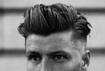 Men's hairdo