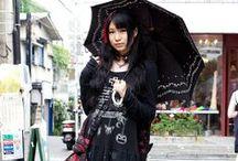 Gothic / Visual kei / Punk Fashion