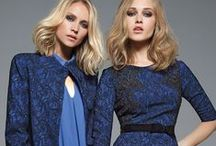 Winter Blue_FW 14-15 / Blue is a big trend on the Autumn/Winter 2014 catwalks!