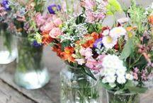 Natural flower arrangements