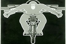Graphics / Cool graphic design, mainly vintage motoring