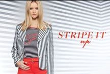 Seeing stripes...Spring Summer 2015 / Striped fashion and stripes as an inspiration!