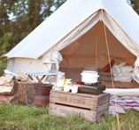 TENT LIFE / Holidays under canvas - inspiring ideas