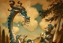 Sir Clankyteapot and Dragon / Some short stories I am writing