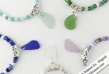Sea Glass Jewelry / Real Authentic Sea Glass Jewelry  Handcrafted in our Cannon Beach Studio by April Knecht