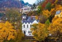 The Taybank / Public house on the banks of the River Tay, Dunkeld, Scotland