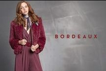Bordeaux is the new black! FW 15/16 / Add this colour trend as an accent or dare to go head-to-toe!