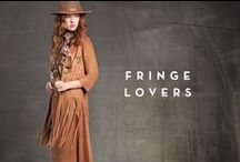 On The Fringe! FW 15/16 / From pants to skirts, from bags to suede jackets: this season fringes are everywhere!
